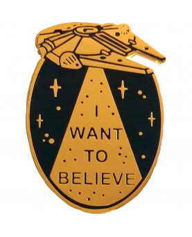 PIN I WANT TO BELIEVE