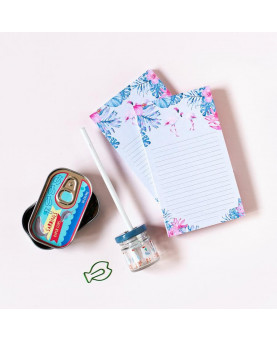 NOTEPAD FLAMINGOS CUQUILAND
