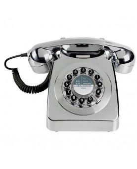 TELEFONO 746 CROMADO PLATA