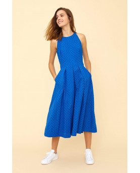VESTIDO EMILY AND FIN ALYSSA OCEAN BLUE