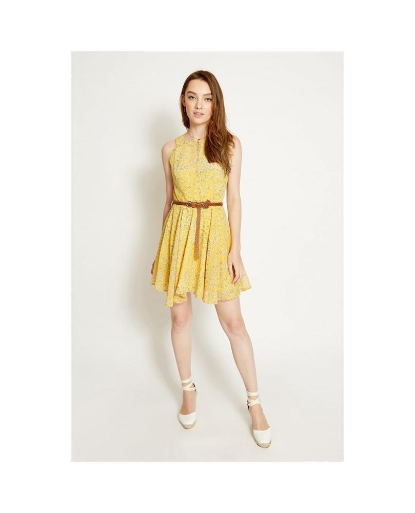 Siena Poete Siena Vestido Amarillo Siena Vestido Amarillo Siena Poete Vestido Vestido Poete Poete Amarillo clTK1FJ