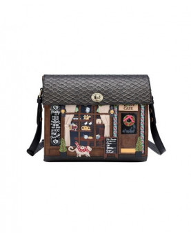 BOLSO COFRE WINTER CAFE VENDULA