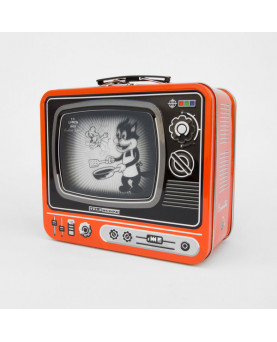 CAJA METAL LUNCH TV KITCHEN NARANJA