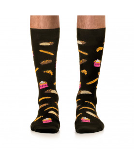 CALCETINES JIMMY LION BREAD BLACK
