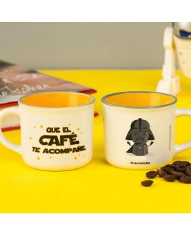 JUEGO TAZA DE CAFE QU EL CAFE TE ACOMPAÑE