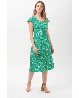 VESTIDO XANTHE PAINTERLY SPOT