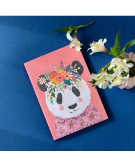 "Libreta Mia Charro ""Oso Panda"""