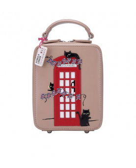 BOLSO BANDOLERA LONDON CATS...