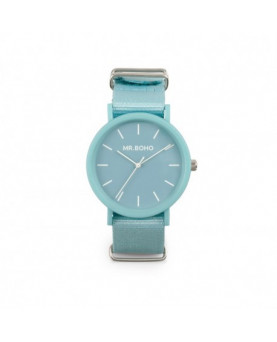 RELOJ MR BOHO BLUE GOMATO