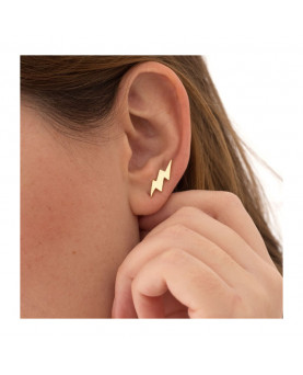 PENDIENTES EAR CUFF THUNDER