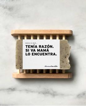 JABON SI VA MAMA LO...