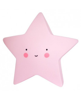 MINI LAMPARA STAR PINK