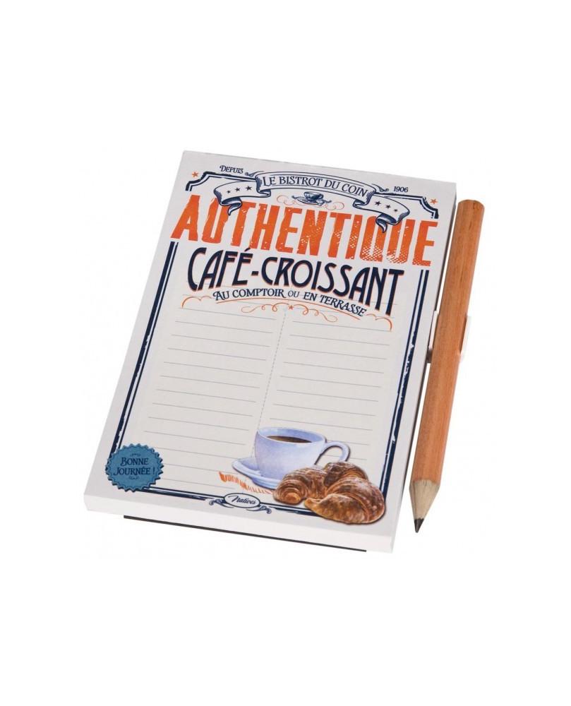 MEMO IMANTADO CAFE CROISSANT