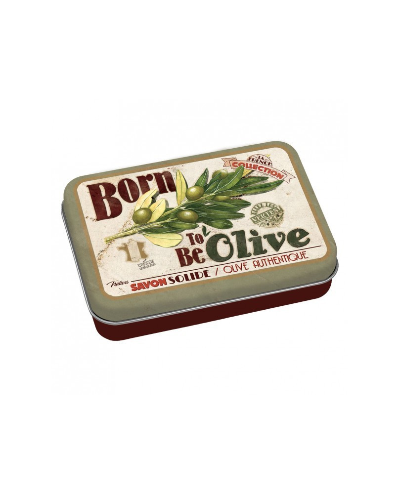 JABON EN LATA BORN TO BE OLIVE