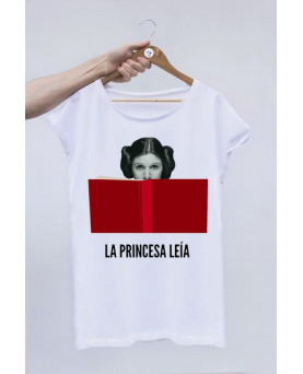 CAMISETA OFF SET LA PRINCESA LEIA