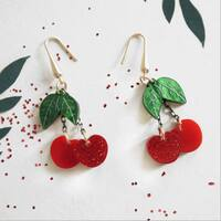Tiempo de 🍒   #cherryearrings #cerezas #novedades #pendientesoriginales #hechoamano #salamanca #srtanaif