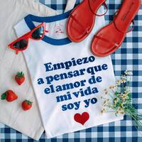 Si no me quiero yo ... #camisetasconmensaje #❤️ #camisetasmolonas #pequeñocomercio #Salamanca #enviogratis https://www.srtanaif.com/camisetas/9950-64992-camiseta-offset-empiezo-a-pensar.html#/1-talla-s